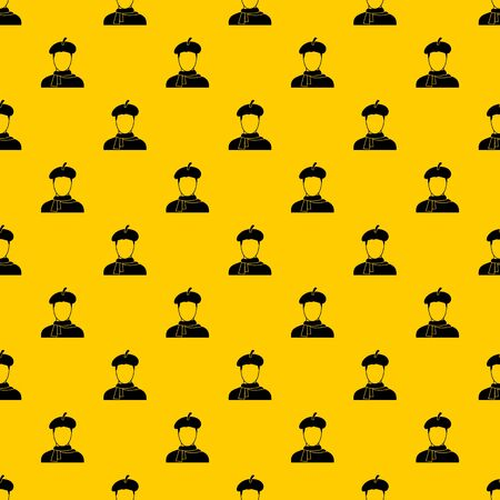 Artist pattern seamless vector repeat geometric yellow for any design
