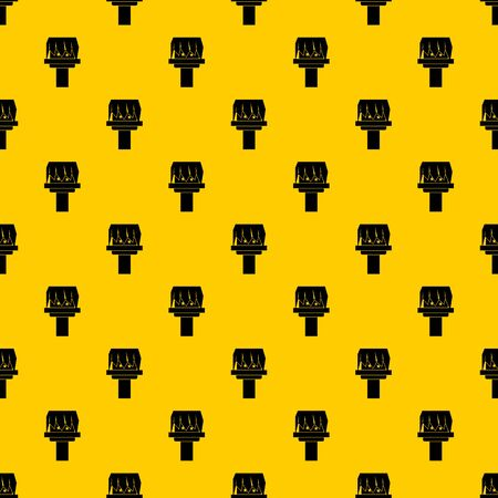 Box magic pattern seamless vector repeat geometric yellow for any design Illustration