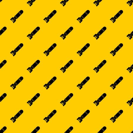 Bomb pattern seamless vector repeat geometric yellow for any design