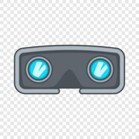 VR glasses icon. Cartoon illustration of VR glasses vector icon for web