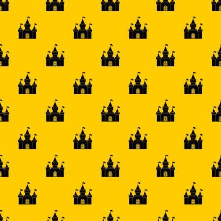 Fortress pattern vector Illusztráció