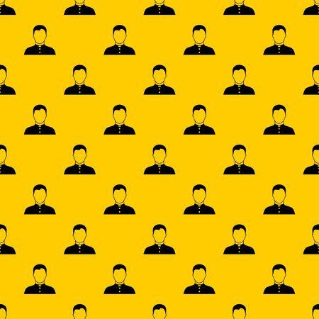 Pastor pattern vector Illustration