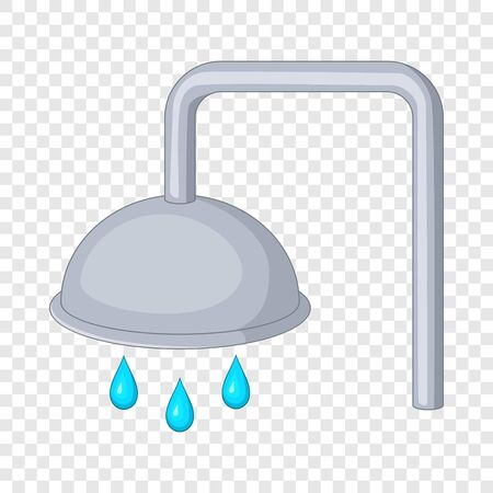 Shower icon. Cartoon illustration of shower vector icon for web