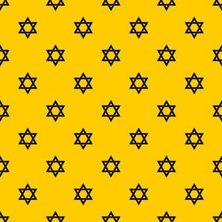 Star of David pattern vector