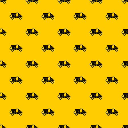Scooter pattern vector