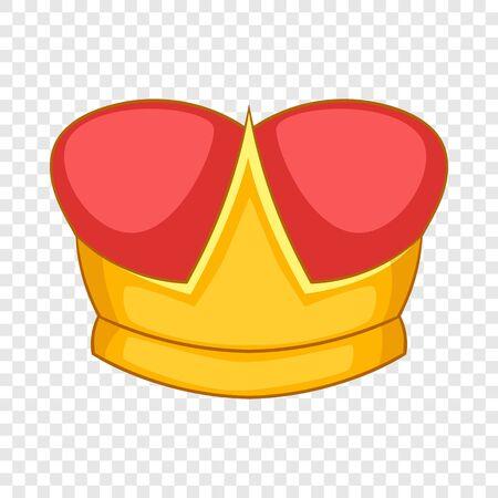 Duke crown icon. Cartoon illustration of duke crown vector icon for web design
