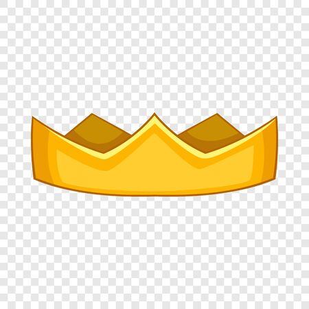 Baron crown icon. Cartoon illustration of baron crown vector icon for web design Illustration
