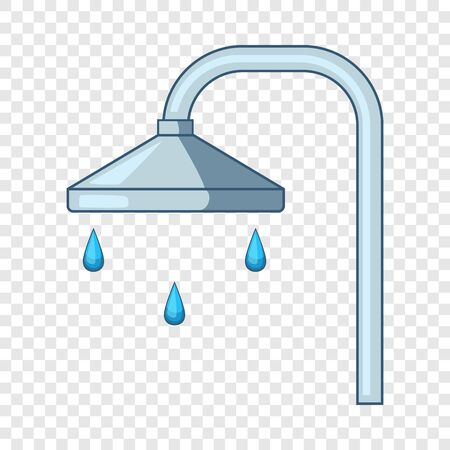 Shower icon, cartoon style Vektorové ilustrace