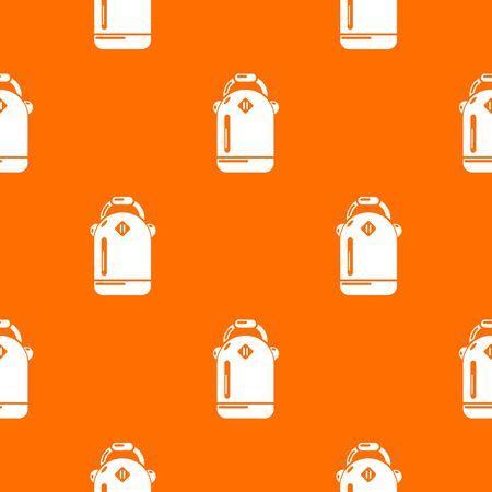 Sac à dos écolière vecteur orange pour tout meilleur web design