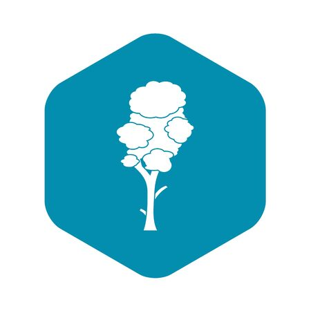 Linden icon. Simple illustration of linden vector icon for web
