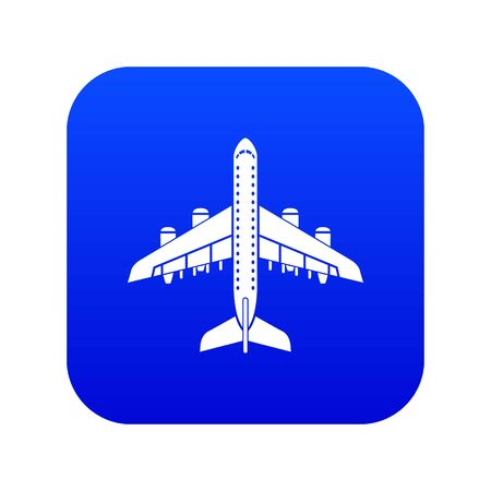 Plane icon, simple style