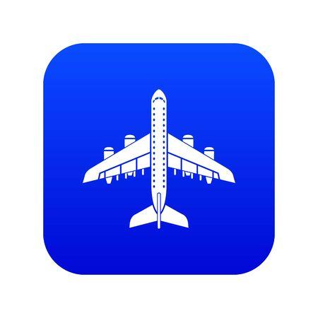 Plane icon, simple style