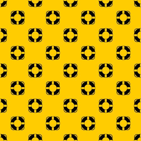 Lifeline pattern seamless vector repeat geometric yellow for any design