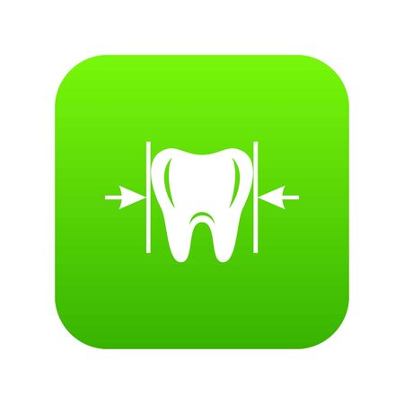 Good tooth icon, simple style
