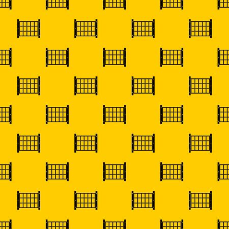 Yard fence pattern