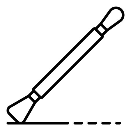Potter tool icon, outline style Archivio Fotografico