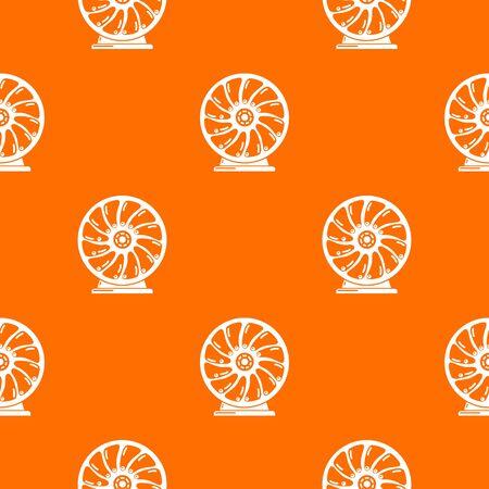 Perpetuum mobile pattern orange for any web design best