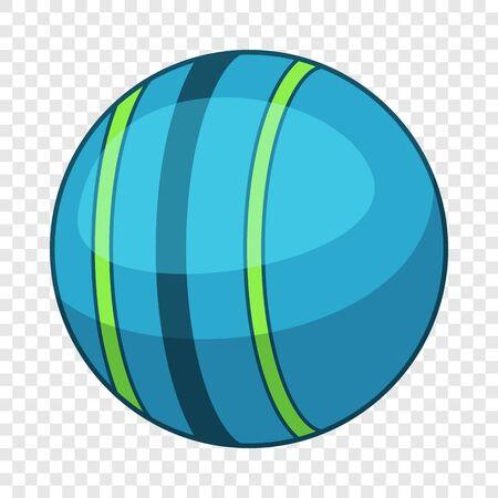 Trainer powerball icon, cartoon style