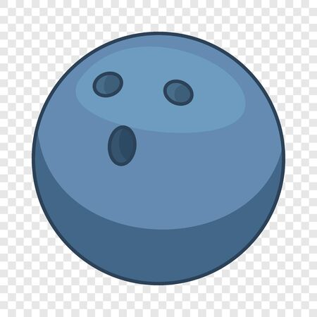 Bowling ball icon. Cartoon illustration of bowling ball vector icon for web design 向量圖像