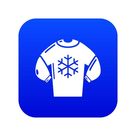 Sweater icon. Simple illustration of sweater vector icon for web