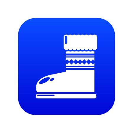 Ugg boots icon. Simple illustration of ugg boots vector icon for web  イラスト・ベクター素材