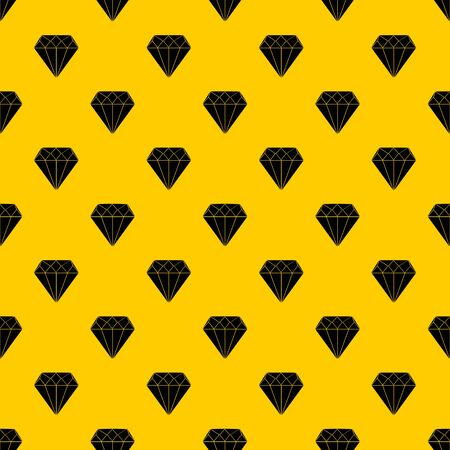 Diamond pattern seamless vector repeat geometric yellow for any design Vetores