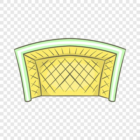 Football goal icon in cartoon style isolated on background for any web design Imagens