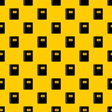 Spiral notepad pattern