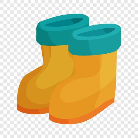 Winter boots icon. Cartoon illustration of winter boots vector icon for web
