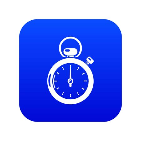 Stopwatch icon, simple style.