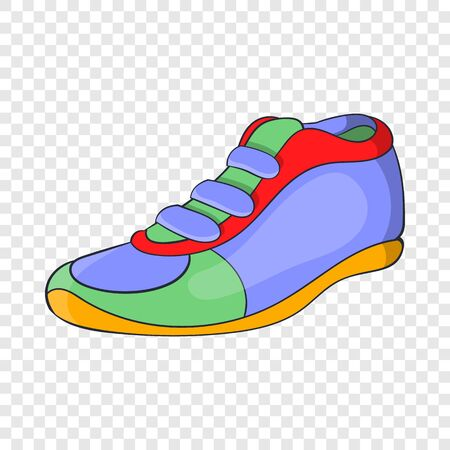 Sport shoe icon, cartoon style 版權商用圖片