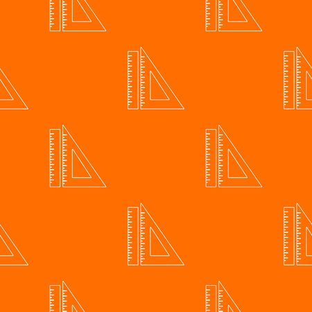 Ruler pattern orange