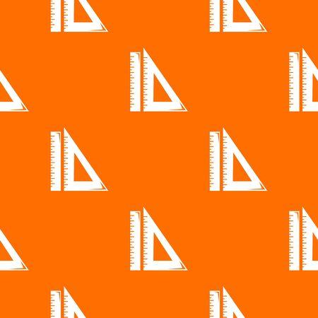 Ruler pattern orange