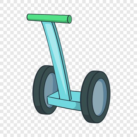hoverboard icon. Cartoon illustration of hoverboard icon for web design