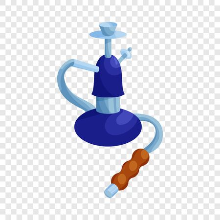 Turkish hookah icon in cartoon style isolated on background for any web design Illustration