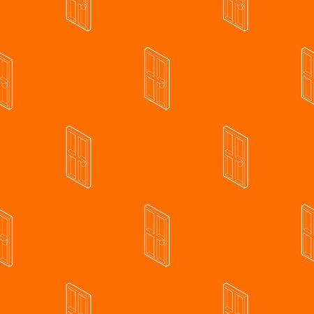 Wooden door pattern vector orange for any web design best