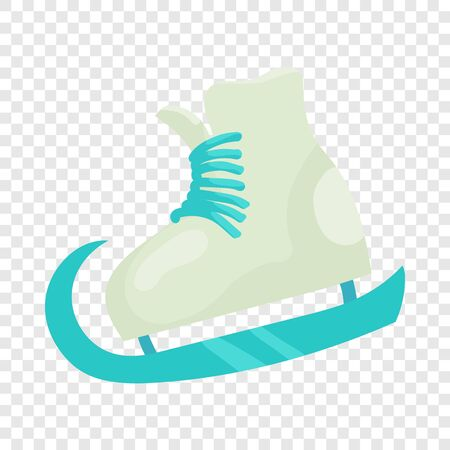 Figure skate icon, cartoon style Çizim