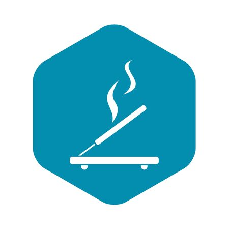 Incense sticks icon. Simple illustration of incense stick vector icon for web design Illustration