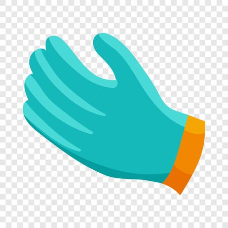 Glove icon, cartoon style 일러스트