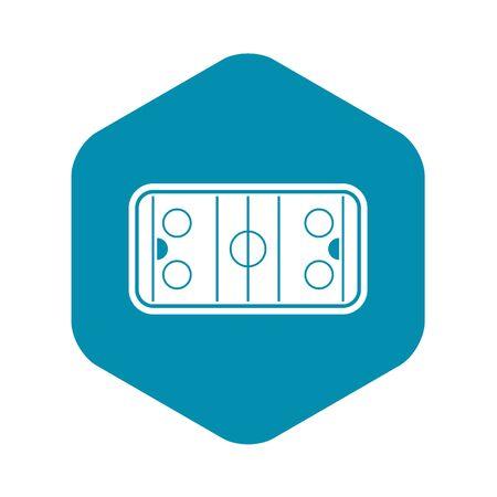 Stadium icon. Simple illustration of stadium vector icon for web