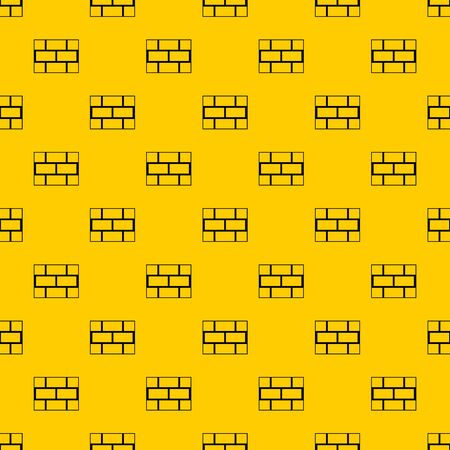 Concrete block wall pattern seamless repeat geometric yellow for any design Banque d'images
