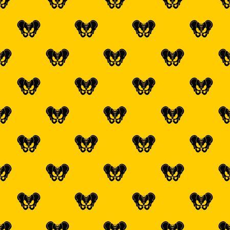 Pelvis pattern vector Stok Fotoğraf - 127606288