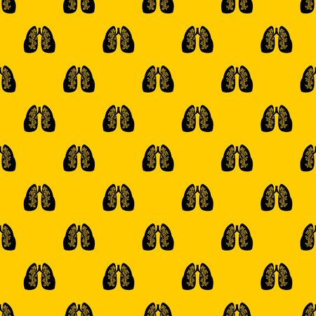 Lungs pattern vector Illustration