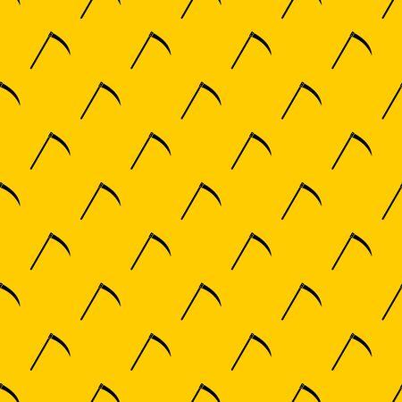 Scythe pattern vector