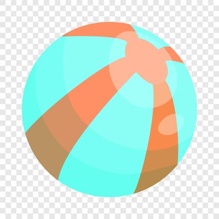 Ball icon. Cartoon illustration of ball vector icon for web