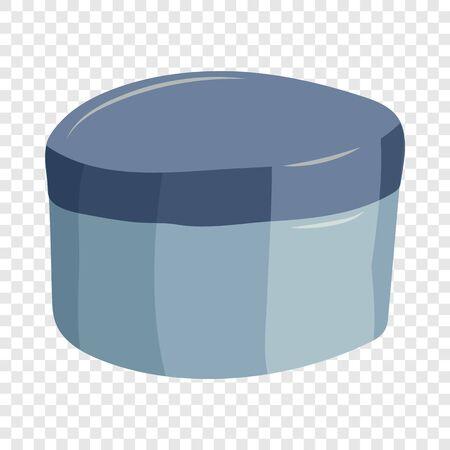 Cosmetic box icon, cartoon style