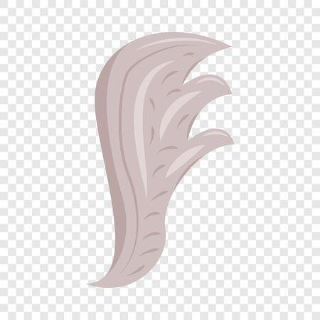 Bird wing icon, cartoon style Stock fotó - 128928902