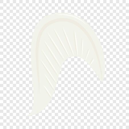Angel wing icon, cartoon style Çizim