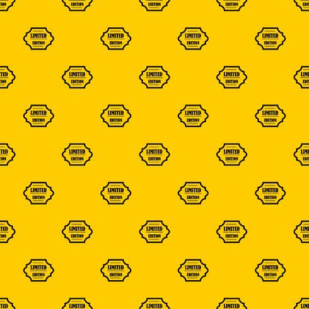 Limited edition pattern seamless vector repeat geometric yellow for any design