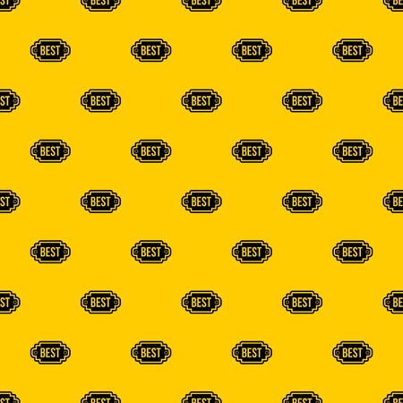 Best label pattern seamless vector repeat geometric yellow for any design